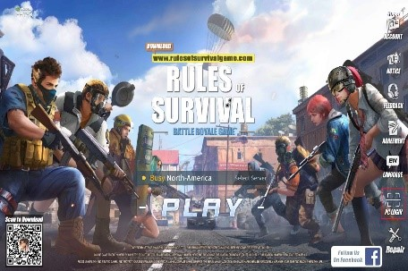 Image of Review Game : Rules of Survival